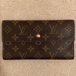 Louis Vuitton Trifold Fastener Wallet
